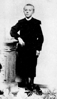 Willem Eduard Keuning, tien jaar oud