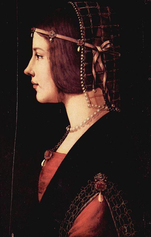 Beatrice d'Este - Leonardo da Vinci