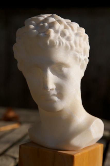 buste Willem de Mérode (aankoop tijdens reis Italië?)