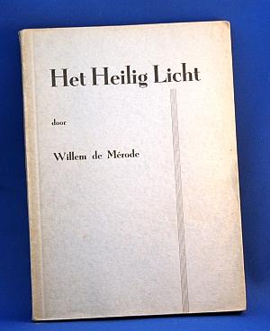 Boekomslag Het Heilig Licht Willem de Mérode
