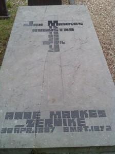 Graf Jan Mankes en Annie-Mankes-Zernike te Eerbeek (foto: Max N. Noteboom)