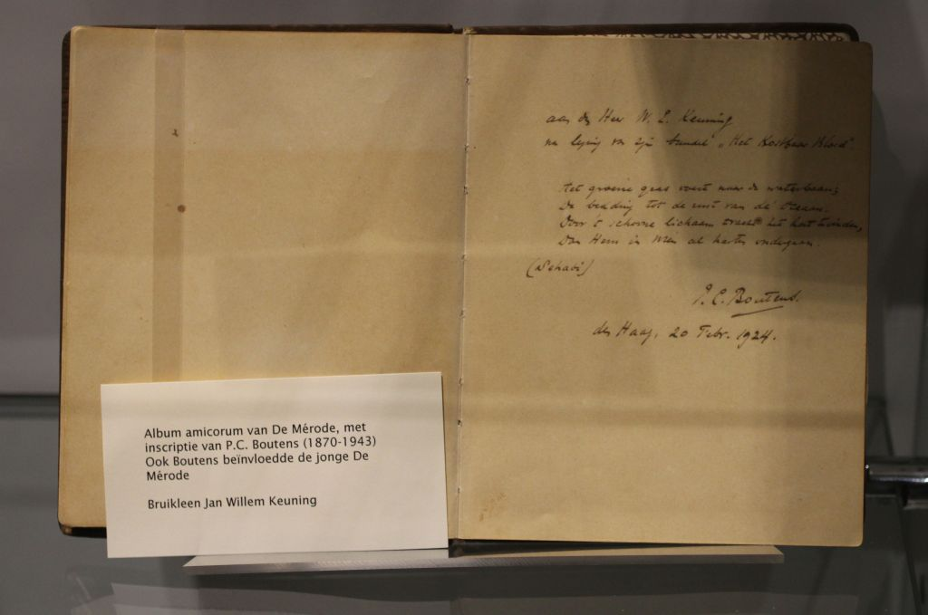 Willem de Mérode   schrijver en dichter  (1887-1939)