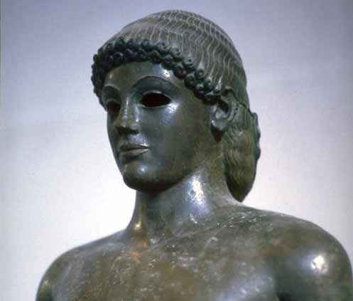 Apollo of Piombino, Grieks, tussen 5e en 1e eeuw v.Chr., Louvre