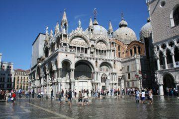 Basilica San Marco aqua alta