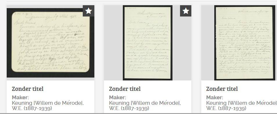 Rispens/De Mérode briefwisseling