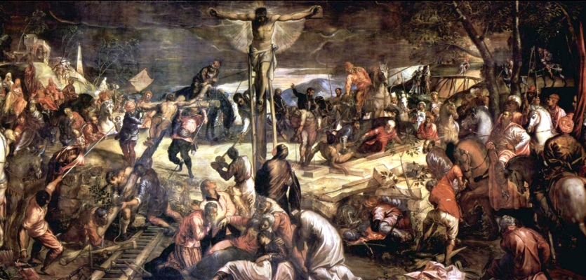 Tintoretto Kruisiging 1565